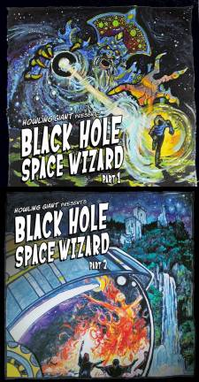 Howling Giant - Black Hole Space Wizard Part 1 & 2