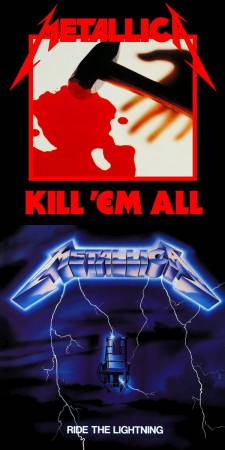 Metallica - Kill 'Em All / Ride The Lightning (remastered)
